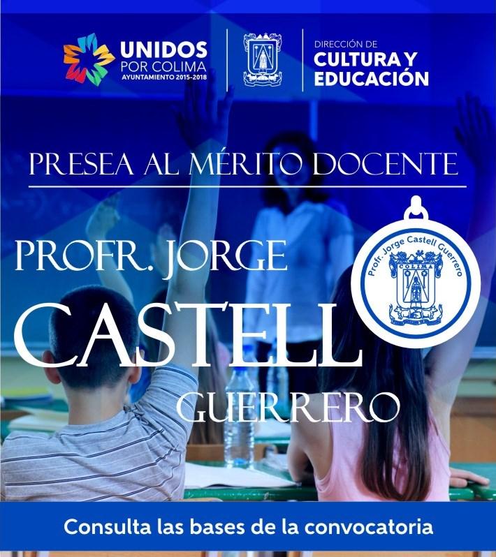 Convocatoria Jorge Castell -