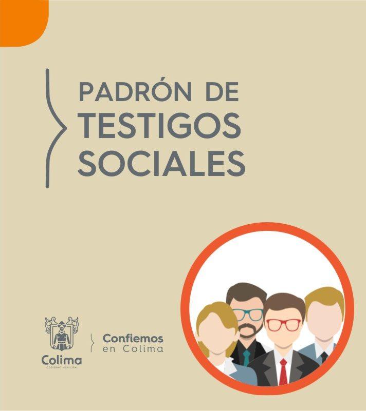 Padrón de Testigos Sociales -