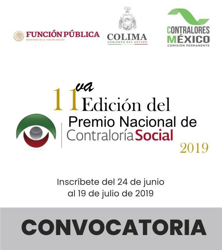 Premio Nacional de Contraloría Social -